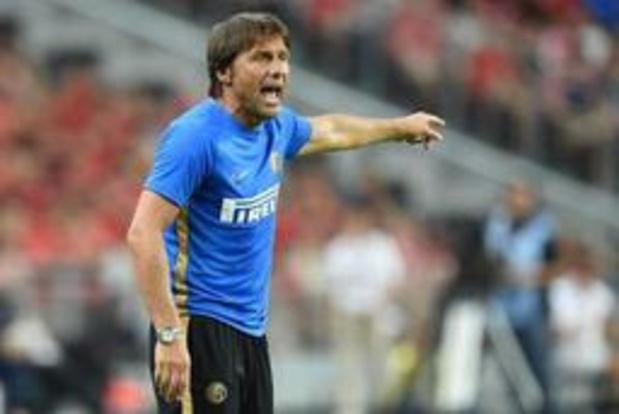 """Belgen in het buitenland - Inter-coach Conte hoopt """"vurig"""" op komst van Lukaku"""