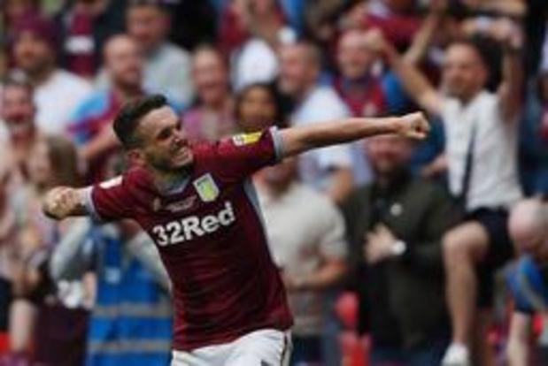 Aston Villa bat Derby County et remonte en Premier League