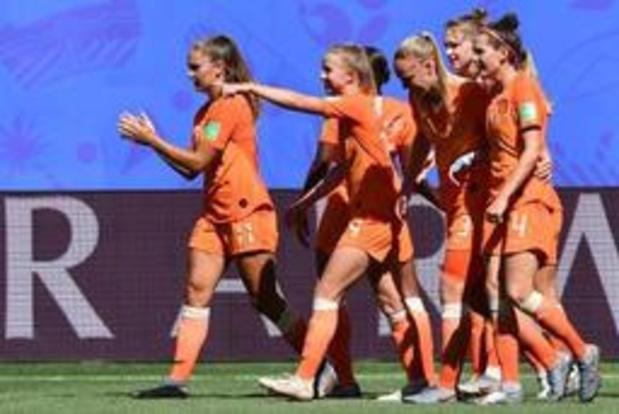 Nederlandse vrouwen claimen ticket voor halve finales WK en Olympische Spelen