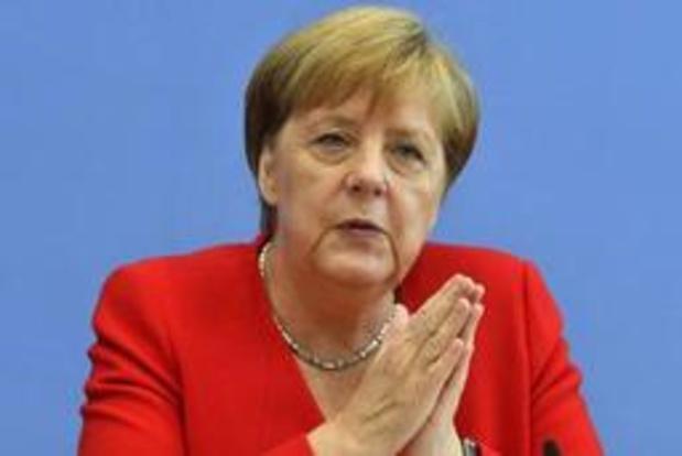 Merkel veroordeelt aanvallen van Trump op Democratische parlementsleden