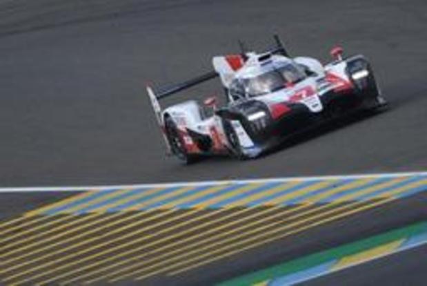 La 87e édition des 24 Heures du Mans s'est élancée avec les deux Toyota en grandes favorites