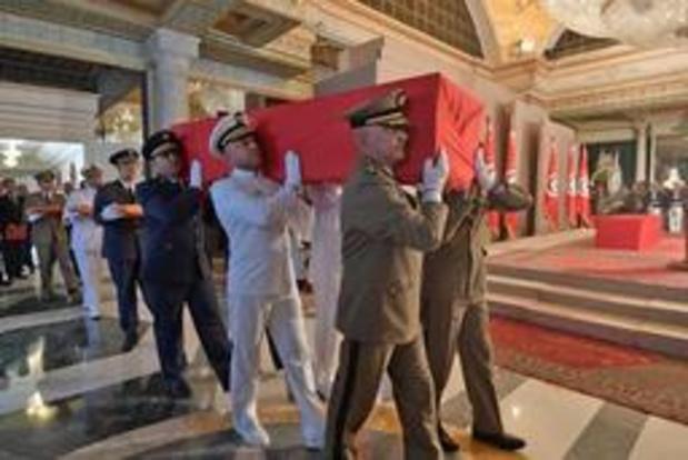 Begrafenis van Tunesische president van start gegaan