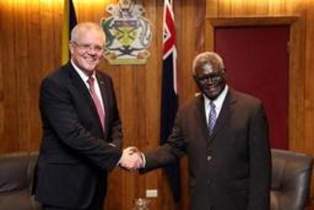 En réponse aux critiques des îles du Pacifique, l'Australie délie les cordons de la bourse