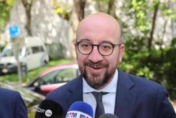 """Michel over uitnodiging van paleis voor Vlaams Belang: """"De koning speelt zijn rol"""""""