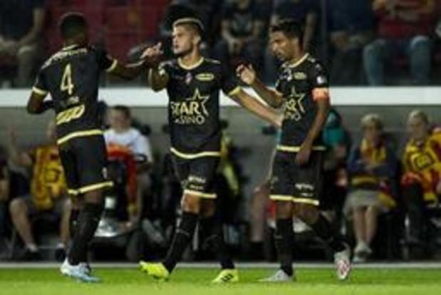 Jupiler Pro League - KV Mechelen en Moeskroen delen de punten en laten leidersplaats liggen