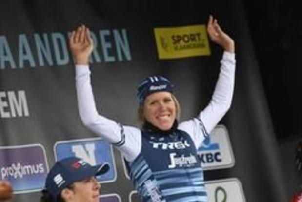 Ellen van Dijk remporte A Travers les Flandres pour la deuxième année de suite
