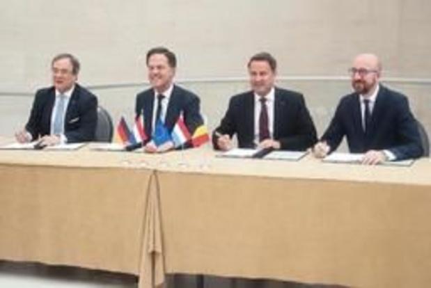 Climat et transition énergétique au programme des dirigeants du Benelux