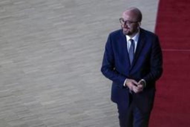"""Charles Michel entend """"défendre ses convictions"""" pour l'avenir du projet européen"""