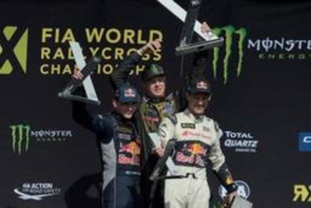 Timmy Hansen remporte le RX de Silverstone, De Ridder malchanceux