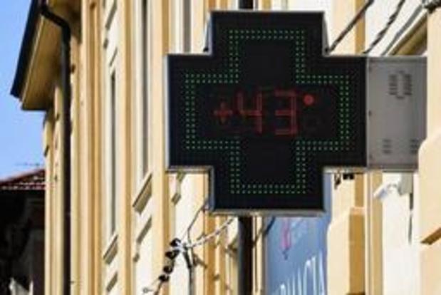 Drie doden door hittepiek in Frankrijk