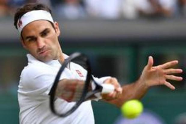 Wimbledon - Roger Federer blijft op koers voor negende titel
