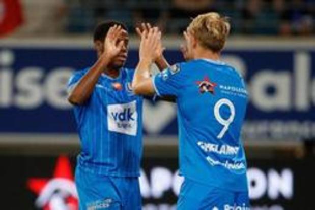 Jupiler Pro League - AA Gent knoopt weer aan met zege na 2-0 winst tegen KV Oostende