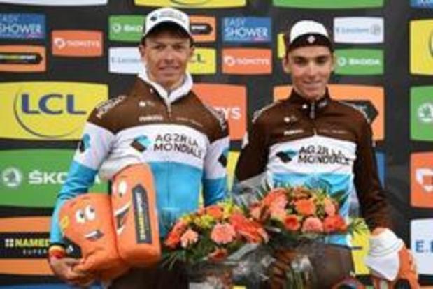 Oliver Naesen en soutien de Romain Bardet chez AG2R sur le Tour de France