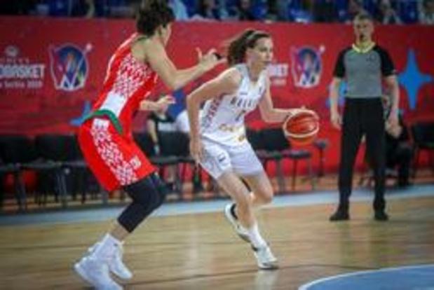 EK basket: Belgian Cats verliezen van Wit-Rusland