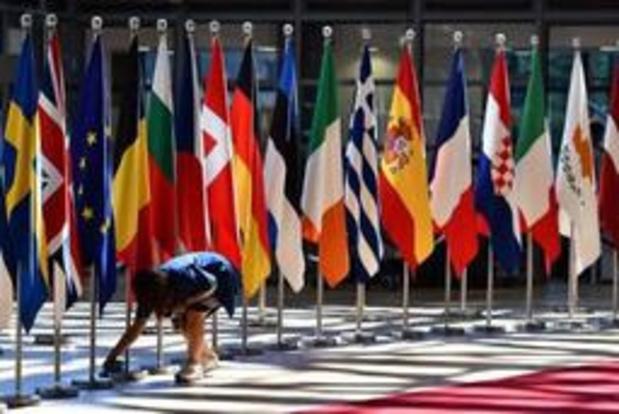 Le sommet européen retardé de près de deux heures