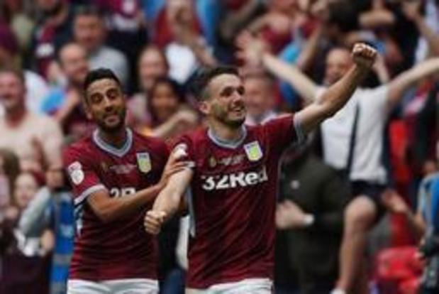 Aston Villa stijgt weer naar Premier League