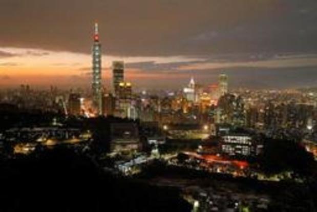 Taiwan maakt zich op voor tropische storm Danas