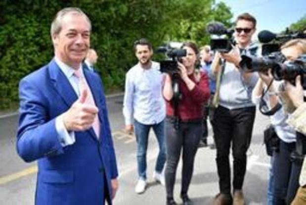 Près d'un électeur britannique sur trois aurait choisi le Brexit Party