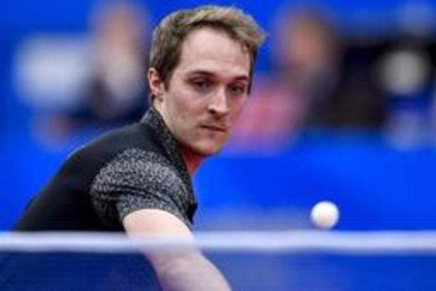 Europese Spelen - Tafeltennisser Cédric Nuytinck in kwartfinales