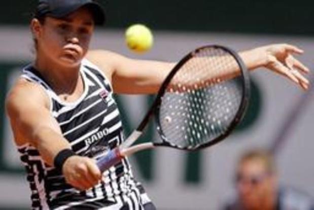 Barty staat voor het eerst in de halve finales Roland Garros