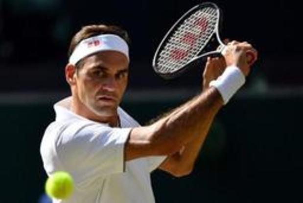 Roger Federer heeft ticket voor derde ronde beet