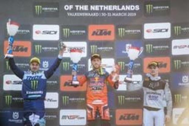 WK motorcross - Antonio Cairoli wint in Valkenswaard, Desalle tweede