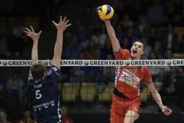 Euromillions Volley League - Roeselare wint in Maaseik en sleept beslissend duel uit de brand