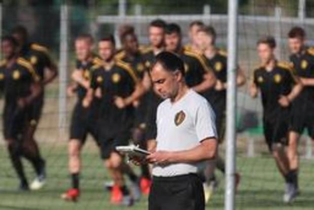 Euro U21 (m) - Johan Walem effectue trois changements face à l'Italie