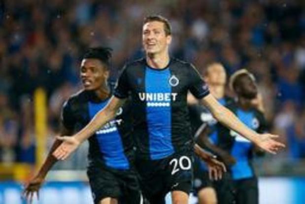 Ligue des Champions - Le Club Bruges se joue 2-1 du LASK et rejoint Genk en phase de groupes