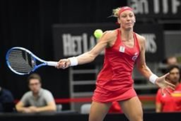 Yanina Wickmayer sortie au premier tour des qualifications à Roland-Garros