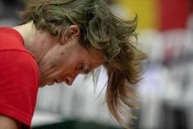 Arthur De Greef battu au 1er tour des qualifications à Wimbledon
