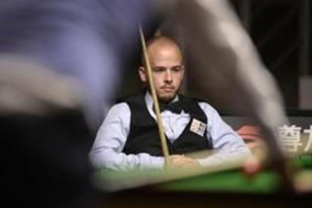WK snooker - Luca Brecel sneuvelt opnieuw in eerste ronde