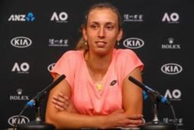Elise Mertens, achttiende, verliest een plaatsje op WTA-ranking