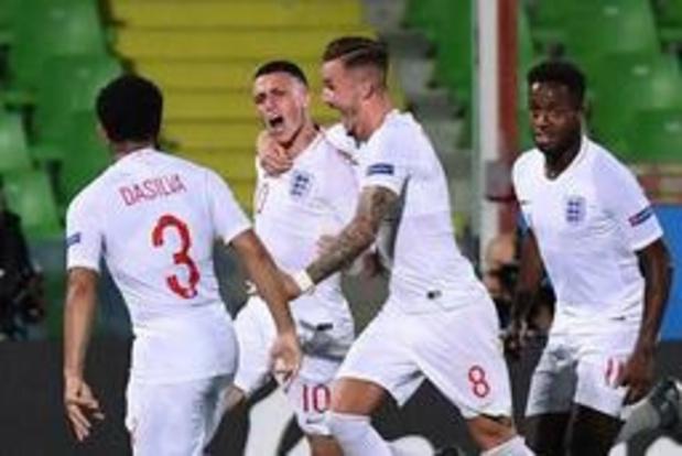 EK U21 (m) - Frankrijk wint ondanks twee strafschopmissers van Engeland