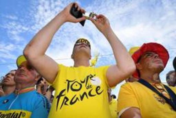 Tour de France: 200.000 spectateurs le long du parcours