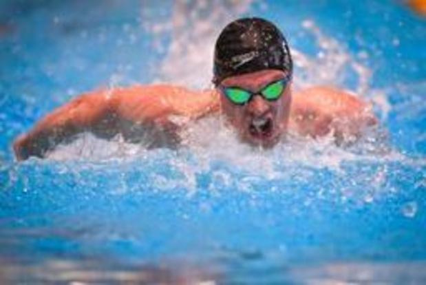 Louis Croenen niet naar finale 200m vlinderslag