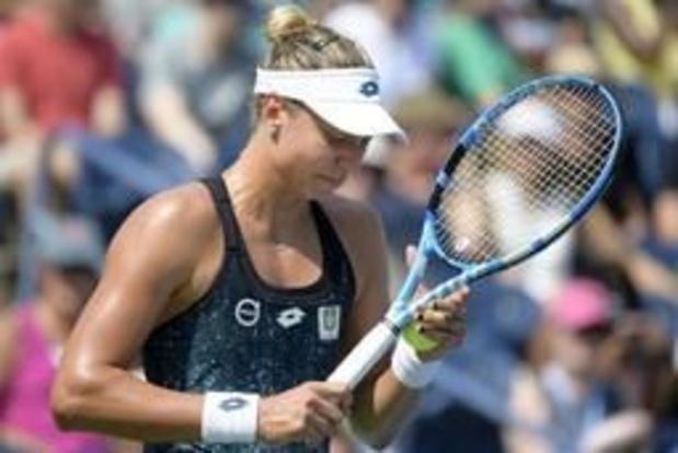 ITF Surbiton - Yanina Wickmayer verliest finale dubbelspel