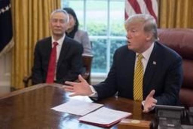"""""""China en VS dichter bij handelsakkoord"""""""