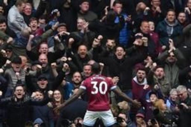 Belgen in het buitenland - Tottenham gaat verrassend onderuit tegen West Ham