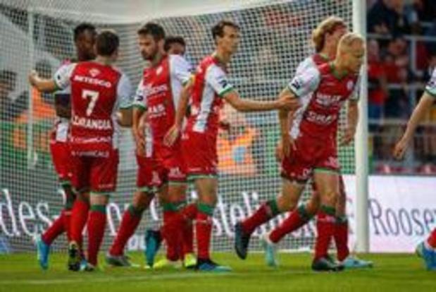 Jupiler Pro League - Première défaite pour Charleroi, battu 3-1 à Zulte Waregem