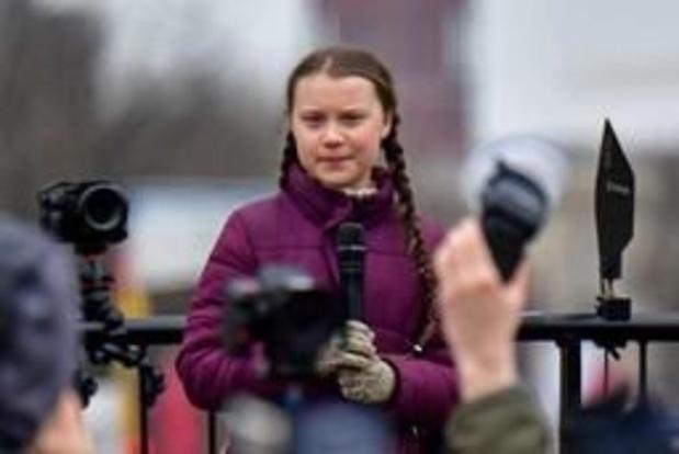 Greta Thunberg vervoegt duizenden klimaatjongeren in Berlijn