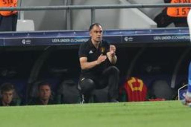 """Euro U21 (m) - Walem fait l'éloge de Verschaeren après son but : """"Mais il doit continuer à être patient"""""""