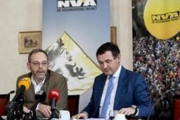 """N-VA Brussel: """"Vlaamse regering mag betalen, maar inspraak is te veel gevraagd"""""""