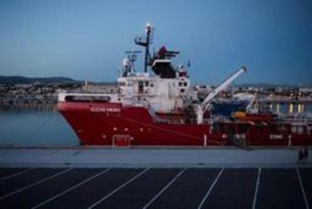 Asiel en migratie - Reddingsschip Ocean Viking mag niet tanken in Malta