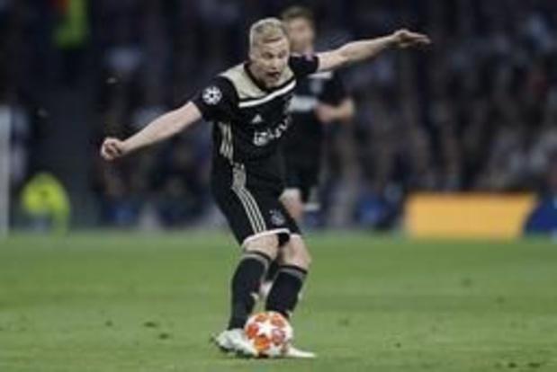 Champions League - Ajax dwingt met uitzege bij Tottenham prima uitgangspositie af