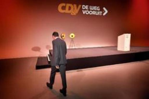 Wouter Beke bood op 26 mei ontslag aan als CD&V-voorzitter