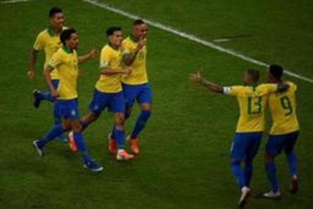 Copa America - Rode kaart voor Gabriel Jesus houdt Brazilië tegen Peru niet van negende triomf