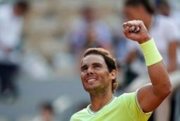 """Un match """"vraiment particulier"""" contre Federer, estime Nadal avant sa demie"""