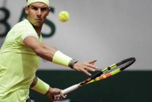 Rafael Nadal déroule au premier tour à Roland-Garros