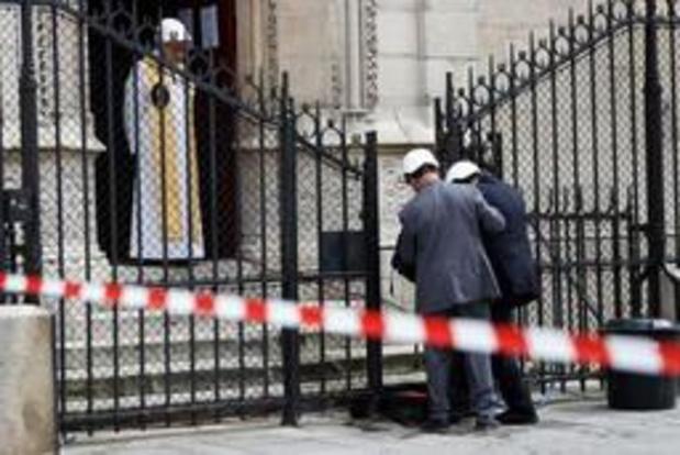 Eerste misviering in Notre-Dame sinds brand